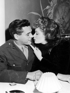 """I Love Lucy"" stars Desi Arnaz and Lucille Ball, circa 1944"