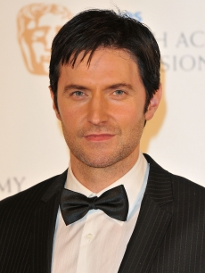 Richard Armitage poses in the press room at the Philips British Academy Television Awards (BAFTA) at London Palladium on June 6, 2010