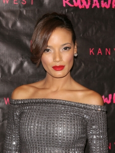 "Selita Ebanks attends the New York Premiere of ""Runaway"" at Landmark Sunshine Theater, NYC, October 21, 2010"
