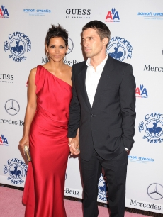 Halle Berry and Olivier Martinez attend The 32nd Annual Carousel Of Hope Ball at The Beverly Hilton hotel in Beverly Hills on October 23, 2010