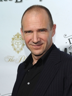 """Harry Potter's"" Ralph Fiennes attends the opening night of ""Driving Miss Daisy"" on Broadway at John Golden Theatre, NYC, October 25, 2010"