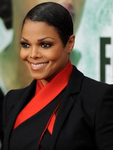 Janet Jackson At The 'For Colored Girls' Premiere, New York