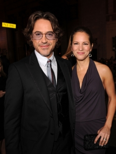 "Robert Downey Jr. and Susan Downey arrive at the premiere of Warner Bros. Pictures' ""Due Date"" at Grauman's Chinese Theater in LA on October 28, 2010"