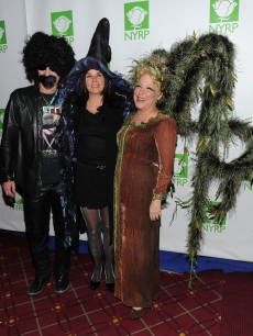 John Mcenroe, Patty Smyth and Bette Midler attend the 15th annual Bette Midler's New York Restoration Project's Hulaween at The Waldorf Astoria, NYC, October 29, 2010