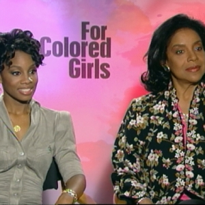 Anika Noni Rose & Phylicia Rashad Talk 'For Colored Girls'