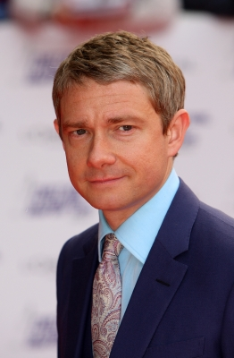 Martin Freeman attends the National Movie Awards 2010 at the Royal Festival Hall, London, on May 26, 2010