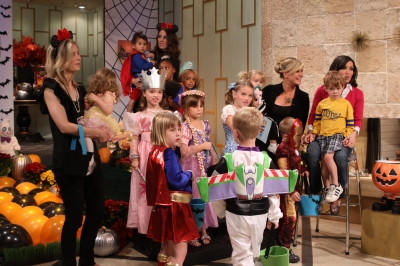 It&#8217;s costumes galore at the Halloween kids costume fashion show on Access Hollywood Live on October 28, 2010