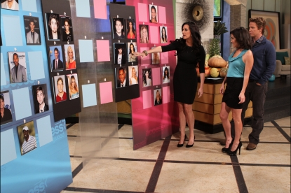 """Millionaire Matchmaker"" Patti Stanger pairs up some of Hollywood's hottest singles during Access Hollywood Live on October 26, 2010"