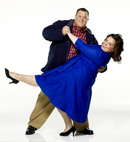 "A promo photo for CBS comedy ""Mike & Molly"""
