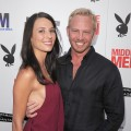 "Erin Ludwig and Ian Ziering arrive at the premiere of Paramount Pictures' ""Middle Men"" in Los Angeles on August 5, 2010"