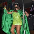 "Nicole ""Snooki"" Polizzi (dressed as a pickle) is seen at ""A Nightmare in Jersey"" at the Jet at the Mirage Hotel & Casino in Las Vegas on October 30, 2010"