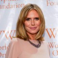 Heidi Klum attends Worldwide Orphans Foundation Sixth Annual Benefit Gala Hosted by Heidi Klum and Seal,NYC, November 1, 2010