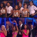 "Top: Team Apolo, Bottom: Team Kristi on ""Dancing with the Stars'"" 200th episode, Nov. 1, 2010"