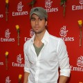 Enrique Iglesias attends the Emirates marquee during Emirates Melbourne Cup Day at Flemington Racecourse in Melbourne, Australia on November 2, 2010