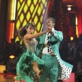 "Rick Fox and Cheryl Burke perform Helio Castroneves and Julianne Hough's quickstep from Season 5 on ""Dancing with the Stars,"" Nov. 1, 2010"