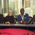 "Steven Tyler, Jennifer Lopez, Randy Jackson and Ryan Seacrest tackle questions about Season 10 of ""American Idol,"" Los Angeles, Nov. 4, 2010"