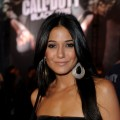 Emmanuelle Chriqui arrives at the Call Of Duty: Black Ops Launch Party held at Barker Hangar, Santa Monica, November 4, 2010