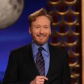 Conan O&#8217;Brien gives his first ever monologue for his new late night show, &#8220;Conan&#8221; on TBS, Los Angeles, Nov. 8, 2010