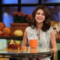 Selena Gomez stops by Access Hollywood Live on November 9, 2010