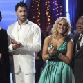 "Brandy, Maksim Chmerkovskiy, Lacey Schwimmer and Kyle Massey on ""Dancing,"" Nov. 8, 2010"
