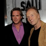 "Cary Elwes and Tobin Bell arrive at a screening of Lionsgate's ""Saw 3D"" at the Manns Chinese 6 Theaters in LA on October 27, 2010"