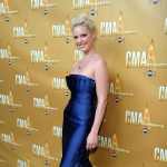 Katherine Heigl attends the 44th Annual CMA Awards at the Bridgestone Arena Nashville, Tennessee, on November 10, 2010 