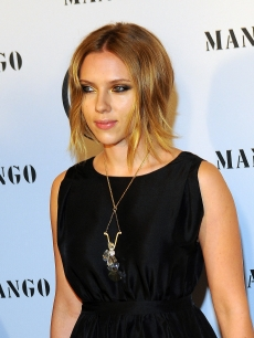 Scarlett Johansson attends the Mango Fashion Awards held at the MNAC on October 20, 2010 in Barcelona