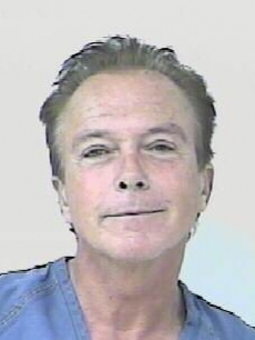 David Cassidy&#8217;s mug shot (November 2010)