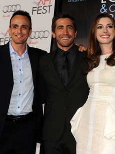 Hank Azaria, Jake Gyllenhaal and Anne Hathaway arrive at the opening night gala for &#8220;Love &amp; Other Drugs&#8221; during AFI FEST 2010 presented by Audi at Grauman&#8217;s Chinese Theatre, Hollywood, November 4, 2010