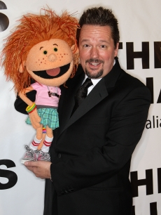 Terry Fator attends the 54th annual Thalians Ball at the Beverly Hilton Hotel in Beverly Hills on November 1, 2009