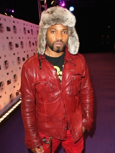 B.O.B. attends the MTV Europe Awards 2010 at the La Caja Magica in Madrid, Spain, on November 7, 2010