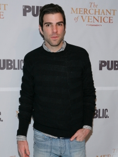 Zachary Quinto attends &#8220;The Merchant Of Venice&#8221; opening night after party at Espace  in New York City on November 7, 2010