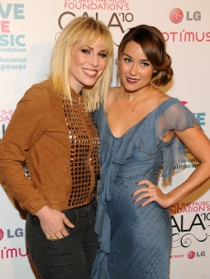 Natasha Bedingfield and Lauren Conrad attend the VH1 Save The Music Gala at Cipriani Wall Street, NYC, November 8, 2010