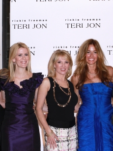 """Real Housewives"" LuAnn de Lesseps, AlexMcCord, Ramona Singer, Kelly Bensimon and Jill Zarin attend Teri Jon's Spring 2011 fashion show and charity luncheon at the Teri Jon Showroom in New York City on November 8, 2010"