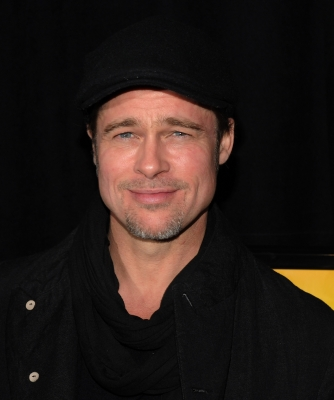 "Brad Pitt attends the New York premiere of ""Megamind"" at AMC Lincoln Square Theater on November 3, 2010"