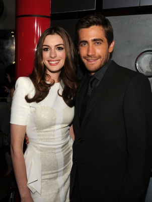 "Anne Hathaway and Jake Gyllenhaal arrive at ""Love & Other Drugs"" Opening Night Gala during AFI FEST 2010 presented by Audi at Grauman's Chinese Theatre in Hollywood, California on November 4, 2010"