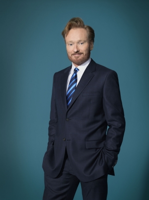 "Conan O'Brien in a promo shot for ""Conan"""