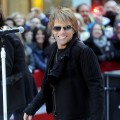 Jon Bon Jovi rocks the Rockefeller Center in New York City on November 12, 2010 