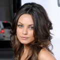 "Mila Kunis arrives at Universal Pictures' World Premiere of ""Forgetting Sarah Marshall"" at Grauman's Chinese Theater in Hollywood on April 10, 2008"