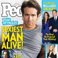 "Ryan Reynolds on the cover of People's ""Sexiest Man Alive"" 2010 issue"