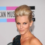 Jenny McCarthy arrives at the 2010 American Music Awards held at Nokia Theatre L.A. Live in Los Angeles on November 21, 2010