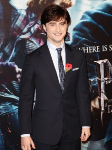 "Daniel Radcliffe attends the New York premiere of ""Harry Potter and the Deathly Hallows - Part 1"" at Alice Tully Hall in New York City on November 15, 2010"