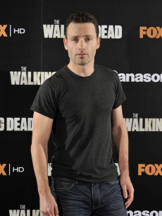 "Andrew Lincoln attends ""The Walking Dead"" photocall at the ME Hotel in Madrid, Spain on November 3, 2010"