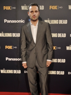 "Andrew Lincoln attends ""The Walking Dead"" premiere at the Capitol Cinema in Madrid, Spain on November 3, 2010"