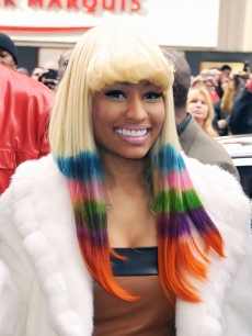 Nicki Minaj attends the MAC + Nicki Minaj launch of Pink Friday Lipstick at MAC Times Square in New York City on November 23, 2010
