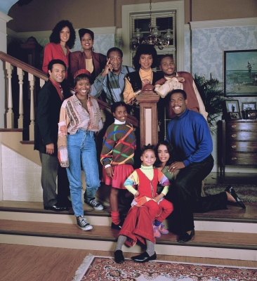 The Cosby Family, circa 1990