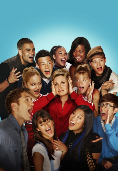"The cast of ""Glee"" Season 2"