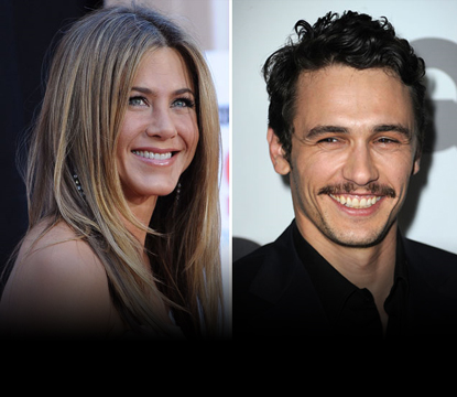 Jennifer Aniston and James Franco