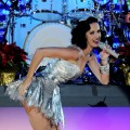 Katy Perry performs onstage at the Grammy Nominations Concert Live! at the Club Nokia in Los Angeles on November 30, 2010