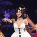 Katy Perry performs at the KIIS FM&#8217;s Jingle Ball 2010 in Los Angeles on December 5, 2010 